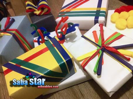 بسته بندی گیفت تولد