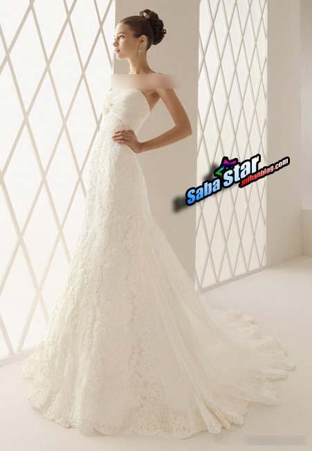 مدل لباس عروس مدرن 2013 (سری3)
